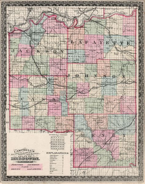 Jackson County Missouri Birth Records Cass Henry Jackson Johnson And Lafayette Counties