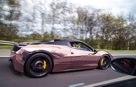 rose gold ferrari rose gold ferrari 458 italia horsepower pinterest