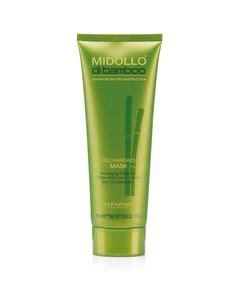 alfaparf midollo di bamboo recharging shoo mask 250ml solarium hair aftersun balancing cream tratamiento
