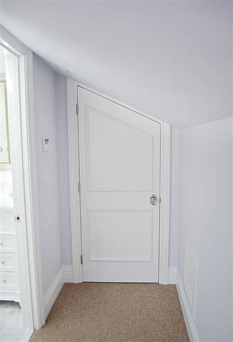 Angled Wardrobe Doors by Angled Attic Door Other Decor Doors
