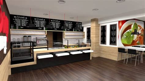 Kitchen Layout by Visual Concept Fast Food Design Holczer Zsolt Formative