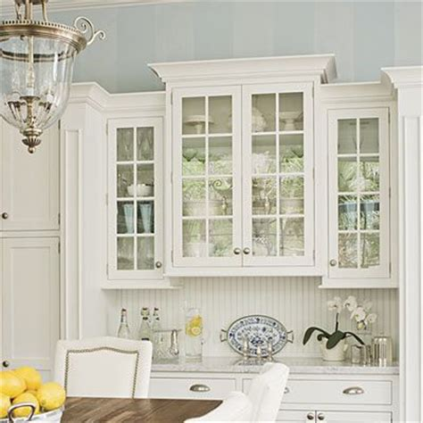 Kitchen Cabinets With Glass Doors by Kitchen Kitchens Blue Ceilings And