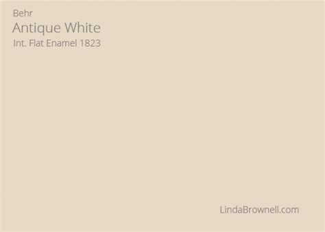 19 best choices of antique white paint color from 14 top brands lindabrownell