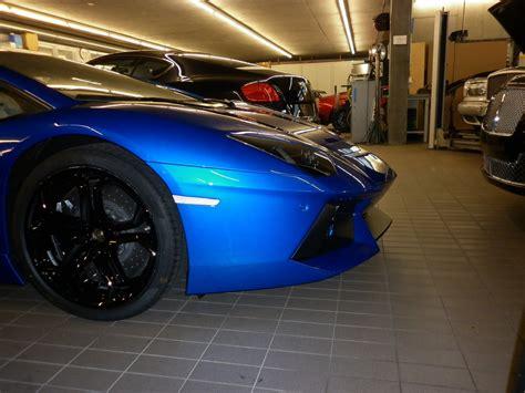 Lamborghini Aventador In Blue Lamborghini Aventador In Blue Nethus Looks Stunning