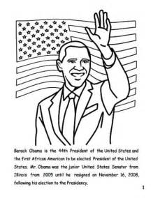 pin coloring page barack obama img 12690 on pinterest