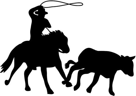 cowboy and cowgirl silhouette silhouette graphics