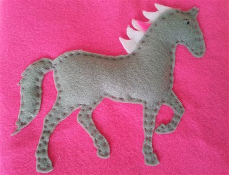 pattern for felt horse easy to sew felt hot water bottle cover buggaluggs