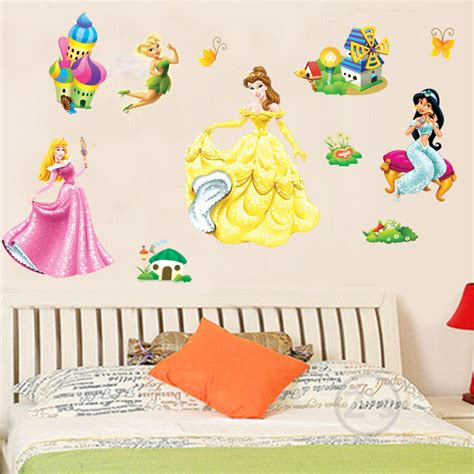 Princess Wall Decals For Nursery Aliexpress Buy Princess Wall Sticker Home Decor Wall Decal Diy For Room Decal