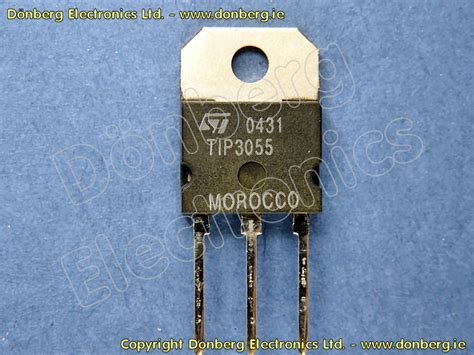 transistor npn tip 3055 semiconductor tip3055 tip 3055 transistor silicon npn 100v 15a 90w