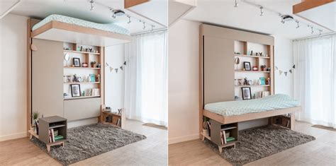 beds that raise up clever bed designs with integrated storage for max efficiency