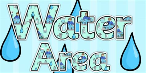 letters into words water area display lettering water area water letters 1460