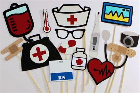 printable nurse photo booth props las 25 mejores ideas sobre graduaci 243 n de enfermera en