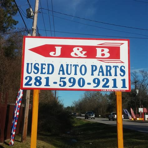 Used Auto Parts Houston Tx by J B Used Auto Parts Auto Parts Supplies 6401 Mount
