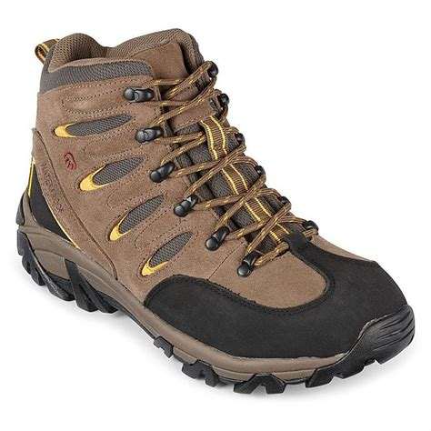 wolverine hiking boots s wolverine 174 waterproof huck hiking boots brown