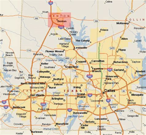 tarrant county map texas tarrant county tx