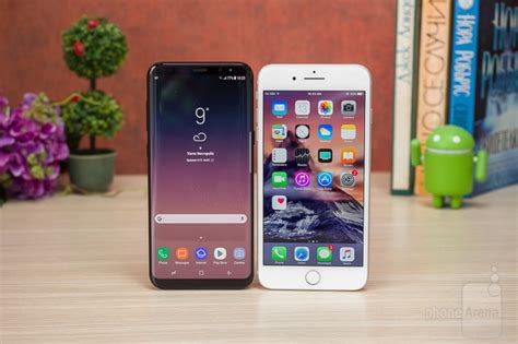 samsung galaxy s8 vs apple iphone 7 plus