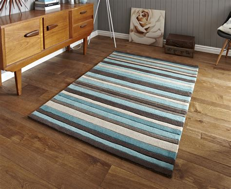 duck egg blue and brown rug hong kong stripey 2022 brown blue rugs buy 2022 brown blue rugs from rugs direct