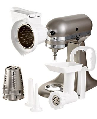 KitchenAid KGSSA Gourmet Stand Mixer Attachment Kit