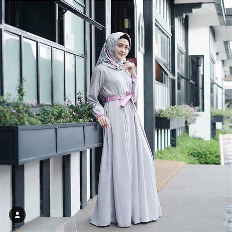Ramona Dress Maxi Dress Atasan Wanita Muslim jual baju pesta muslim ramona dress muslimodis