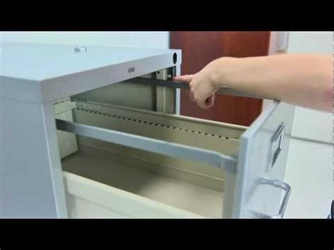 Installing File Locking Bar On Filing Cabinet   How To