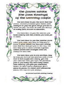Wedding Blessing Scottish by 1000 Images About Words Of Wisdom On