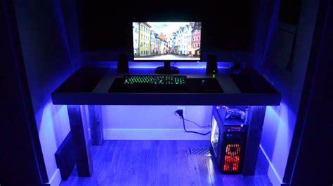 desk with led lights desk led lighting strips