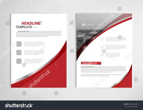 annual report book cover design annual report template design book cover stock vector