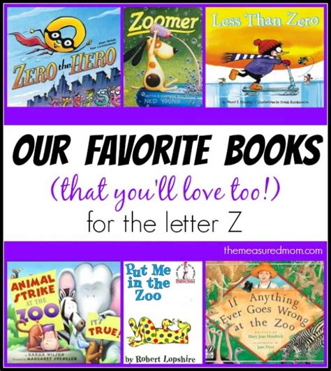 z books books to read for letter z the measured