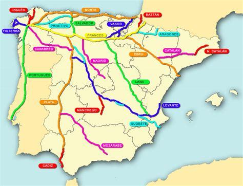 camino de santiago mappa mayayo oxigeno rutas camino de santiago madrid segovia