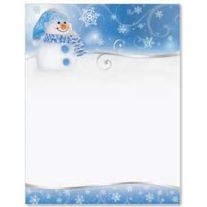 snowman border papers paperdirect