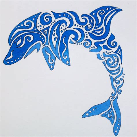 tribal dolphin tattoos designs tribal dolphin by therebornwolf on deviantart