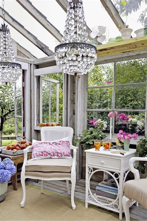 ideas for using greenhouse for outdoor christmas decorating glamorous garden shed makeover shabby chic she shed decorating