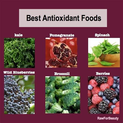 10 Best Antioxidant Foods by 10 Images About Antioxidants Superfoods More On