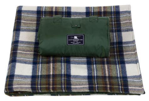 Tartan Picnic Rug Waterproof by Waterproof Wool Tartan Picnic Rugs Blankets