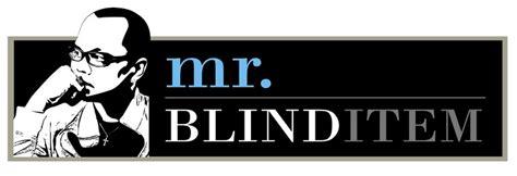 Blind Item by Mr Blind Item Blind Item 10 Two Comedians
