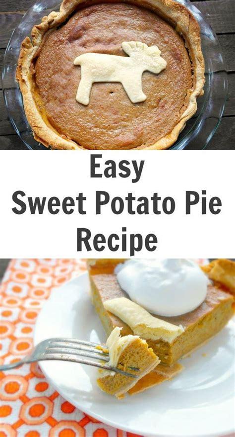 easy sweet potato pie recipe sweet pie recipes and easy sweet potato pie