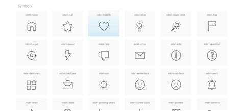 bootstrap layout icons bootstrap icons list