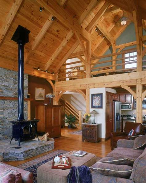hearthstone log  timber frame homes
