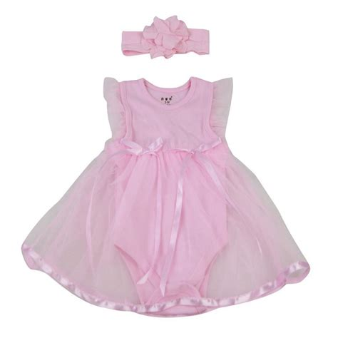 Handmade Baby Doll Clothes - handmade baby dolls clothes pink romper dress for 22 23