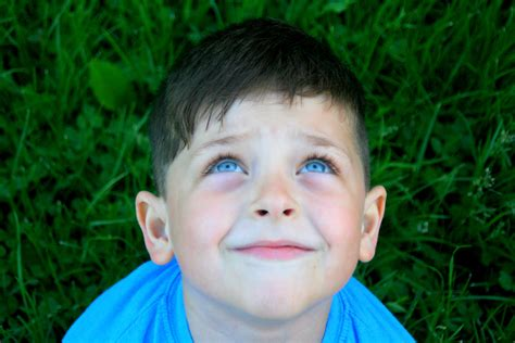 Boy Blue adorable boy with blue domain free photos for