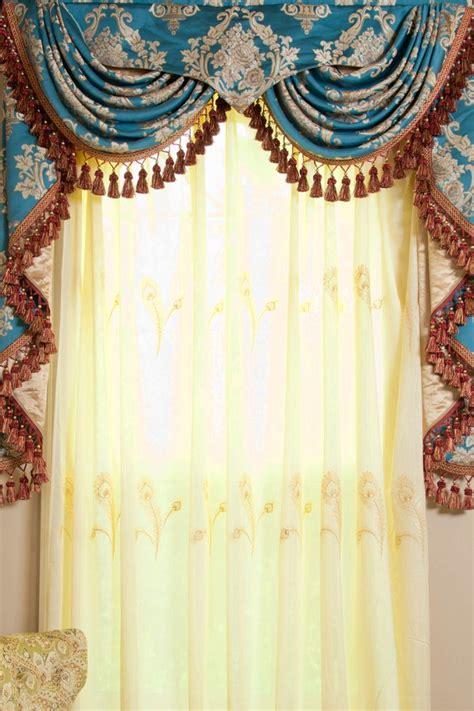 swag curtain patterns parisian style swag valance patterns