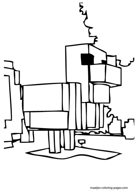 minecraft block coloring page minecraft block s free coloring pages