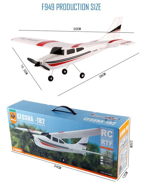 Rc Plane Cessna182 Wltoys F949 wltoys f949 3ch 2 4g cessna 182 micro rc airplane rtf rc planes parts rc shop pakistan