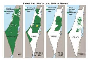shrinking palestine map cards