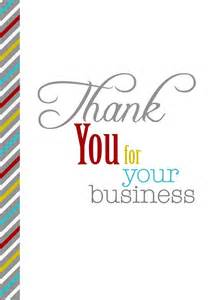 thank you with stripes business appreciation cards from