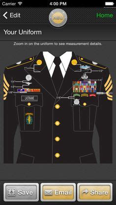 asu jacket layout the only app that builds your entire army service uniform