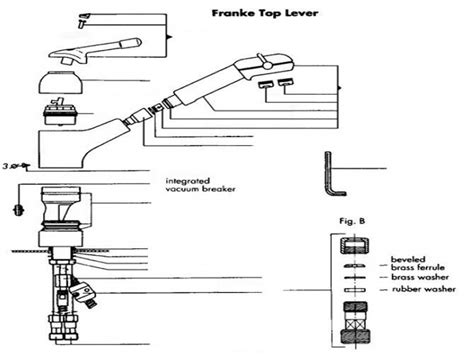 franke kitchen faucet parts franke kitchen faucet parts review home co