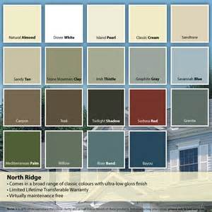 vinyl siding color chart mastic vinyl siding colors alcoa mastic vinyl siding