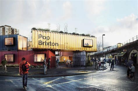 Kitchen Design Cornwall pop brixton carl turner s shipping container village