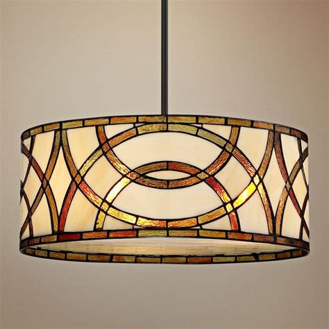 tiffany kitchen pendant lights american hwy art glass circles tiffany style pendant chandelier